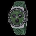SWATCH Sperulino Green Rubber Chronograph