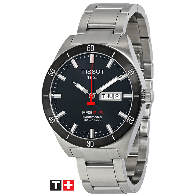 Garofalaki tissot-prs516-automatic-black-dial-men s-watch-t044. 6121c5aa680