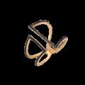 Δακτυλίδι απο Ροζ Χρυσό & Μπριγιάν